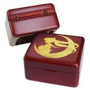 Image 2 - Sinzyo boîte à musique en bois marin fait à la main, boîtes à cadeaux danniversaire pour noël/anniversaire/saint valentin