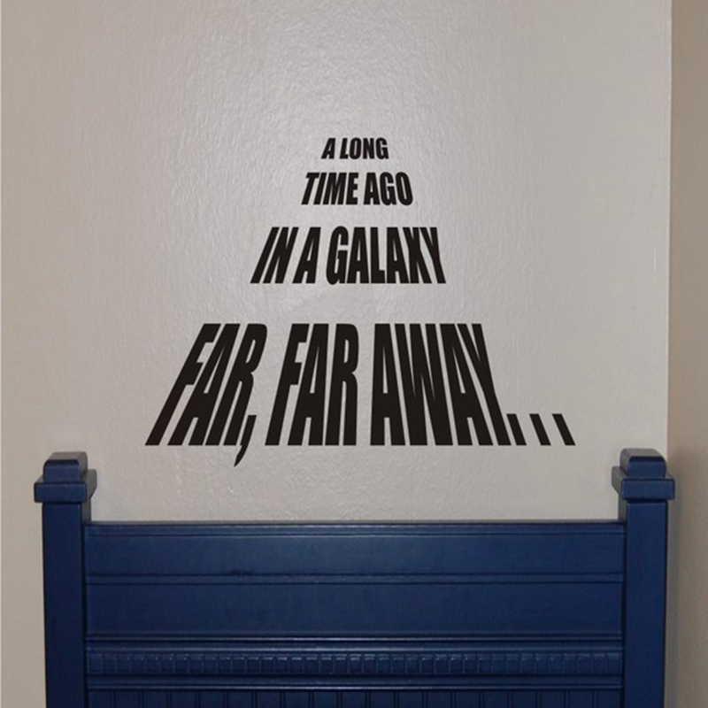 Star Wars Vinyl Wall Decal Stickers ,63x55cm free shipping <font><b>c2053</b></font> image