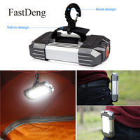 Portable Camping Light 15W LED Camping Lantern Tents Lamp 6000 mAh Power Bank Outdoor Hiking Night Hanging lamp USB Rechargeable