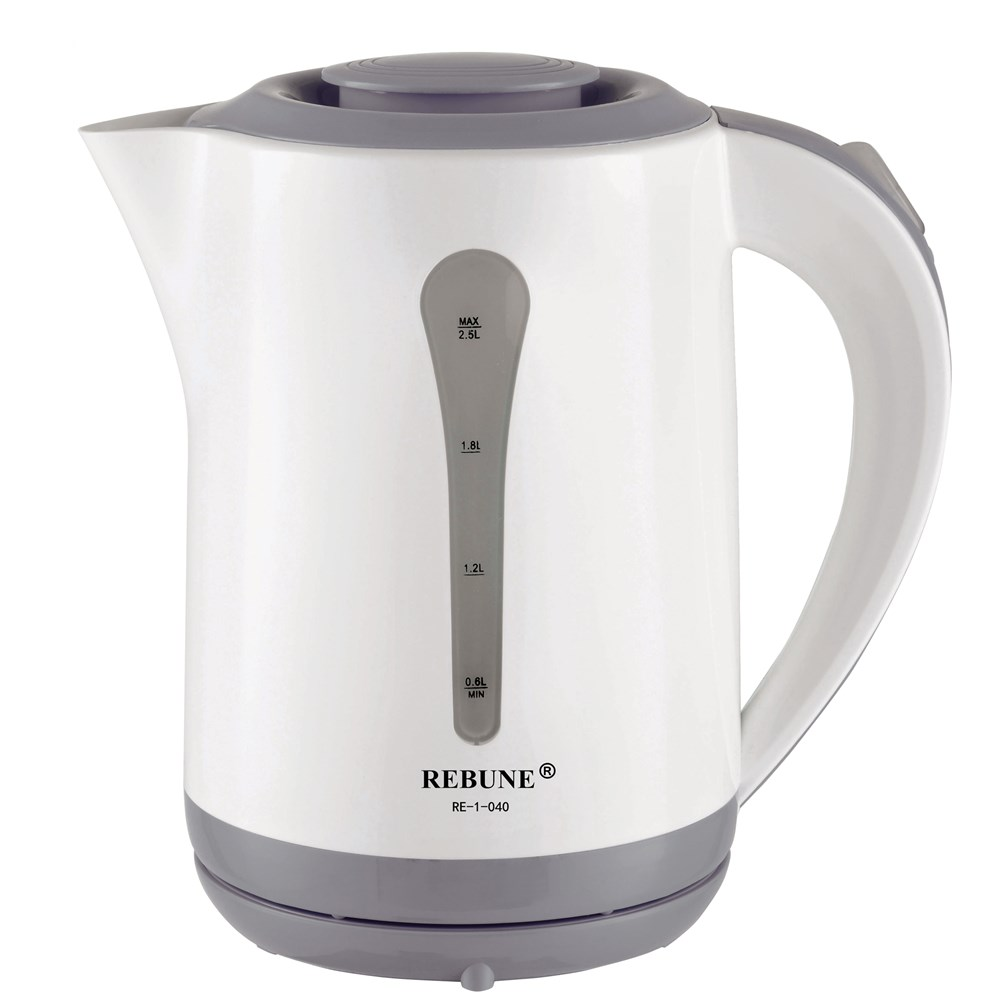 REBUNE 2.5L Electric Kettle Auto Power-off Protection Wired Handheld Instant Heating Electric Kettle цена
