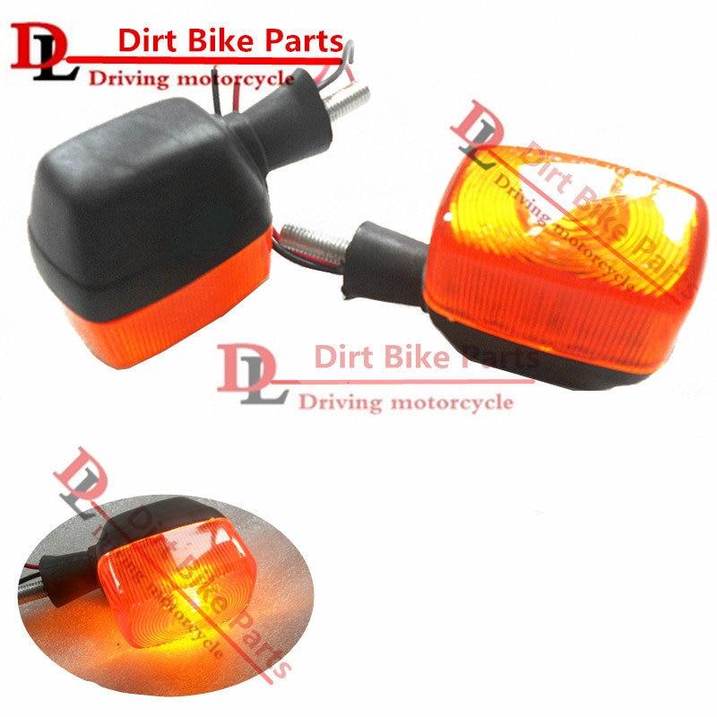 1 pair Motorcycle Turn Signals Light For Honda AX1 250 AX-1 250 Signal Not   Lights Indicators Flasher Orange