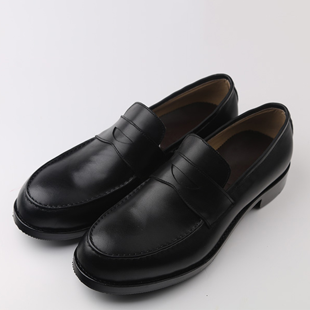 Sipriks Mens Penny Loafers นำเข้าอิตาเลี่ยนหนังสีดำผู้ชาย Topsiders Loafers Custom Goodyear Welted รองเท้ายุโรป 2018-ใน รองเท้าทางการ จาก รองเท้า บน   3