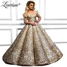 Robe De Soirée 2019 Musulman robes De soirée Encolure Arabie Arabe Femmes Robe De bal formelle Robe De fête Abendkleider Personnalisé
