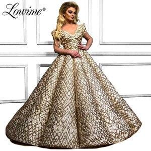 Image 1 - Robe De Soiree 2019 Muslim Evening Dresses Off Shoulder Saudi Arabic Women Formal Prom Dress Party Gowns Abendkleider Custom