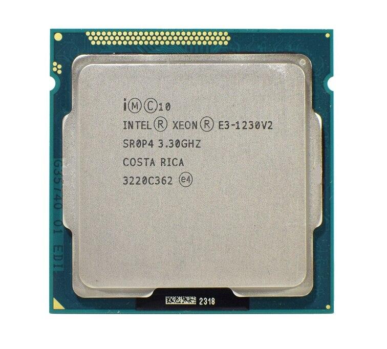 Intel Xeon E3 1230 V2 3.3 GHz 6 MO 4 1333 MHz SR0PH LGA1155 CPU 1230v2 Processeur