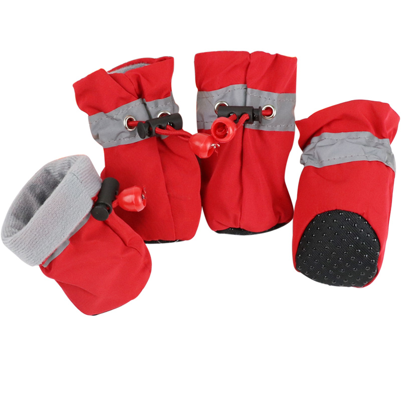 4pcs Anti Slip Dog Shoes Spring Pet Dog Boots for Dogs Footwear Pet Puppy Booties Socks Pet Supplies 1c30 1