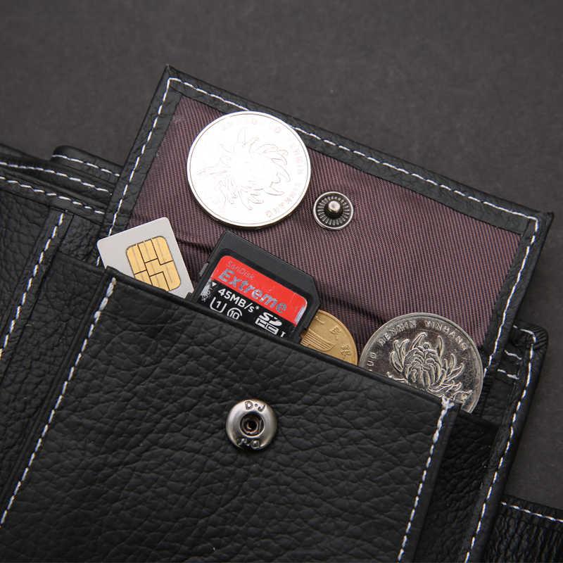 Пояса из натуральной кожи Для мужчин Женские Кошельки бренд высокое качество Дизайн Женские Кошельки с карманом для монет Кошельки подарок для Для мужчин держатель карты Двойные мужской кошелек
