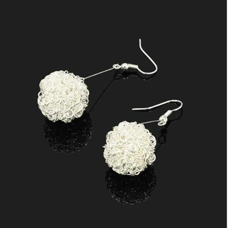 E051 милый человек тепла рекомендуем персонализированные Гольф мяч серьги шикарные серьги Южной Кореи уха ювелирных изделий