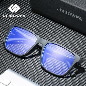 Image 3 - ברור שקוף מחשב משקפיים גברים מסגרת אנטי כחול אור חסימת משקפיים מסגרת TR90 קוצר ראייה אופטית משקפיים תואר