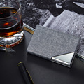 Name Card Case Stainless Steel Metal Card Holder Box Business ID & Name Card Cover Best Gifts