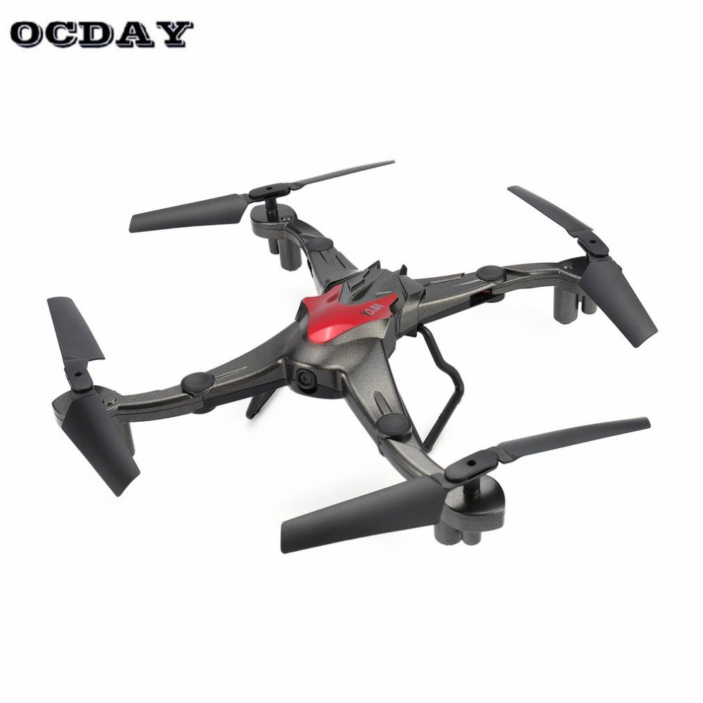 D70WG 6-axis Drone 0.3MP Wifi Camera FPV RC Foldable Quadcopter Aircraft with Altitude Hold Headless 3D Flips Speed Switch fz(China)