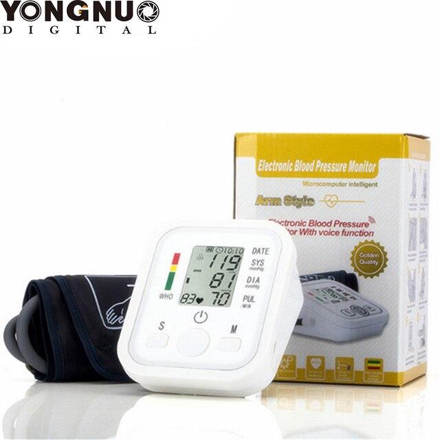 مراقبين الرقمية الذراع ضغط الدم رصد نبض الرعاية الصحية جديد العليا المحمولة مراقبة ضغط الدم متر الدم