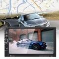 Bluetooth 7 дюймов 2 Din Автомобильный Mp5 Плееры Поддержка Сенсорного Экрана GPS Навигация Micphone TF Card Player С автомобильная камера заднего вида