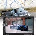 Bluetooth Soporte de Pantalla Táctil de 7 pulgadas 2 Din Coche Mp5 Jugadores GPS de Navegación Micphone Tarjeta TF Jugador Con cámara de visión trasera