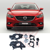 OEM With Auto Fog Lights Halogen Lamp Kit for Mazda 6 mazda6 2014 2015 2016