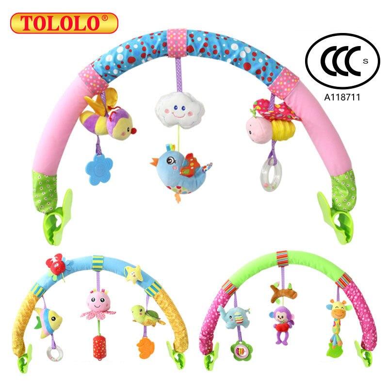 Tololo 1 шт. детские подвесные птенца и фиолетовый обезьянка музыкальная игрушка кровать и коляска детские игрушки Погремушка подарки ...