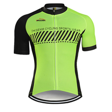 Mens Cycling Jersey Summer Cool Roupa Ciclismo Short Sleeve Breathable Quick Dry Outdoor Sports MTB Road Riding Bicycle Shirt