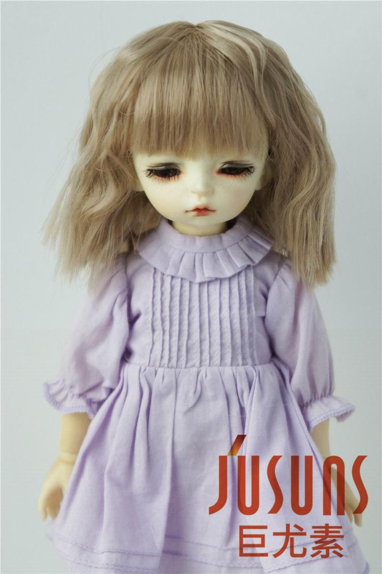 JD235 1/8 1/6 1/4 1/3 Fashion short curly bjd doll wig Pretty Heat resistance wigs on sale hot sale doll accessories