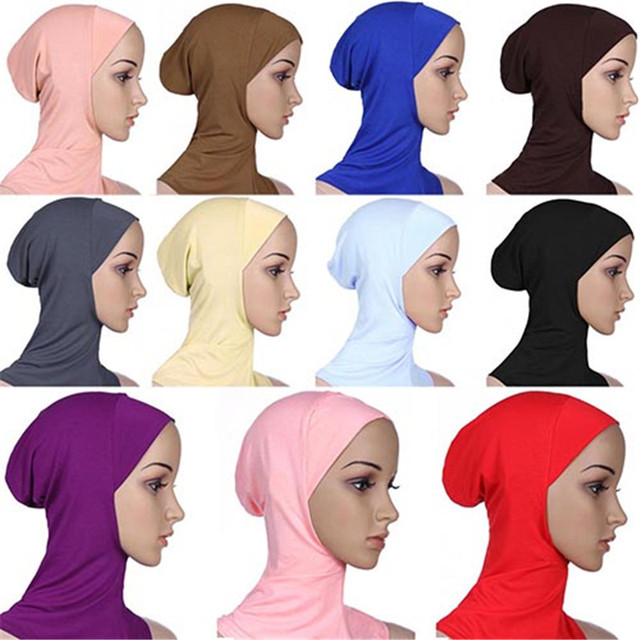 Soft Muslim Full Cover Inner Women's Hijab  5