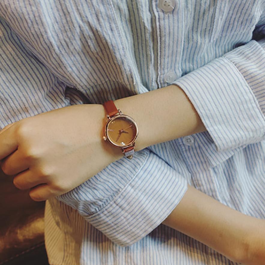 Relogio Feminino Men Womens Watch Reloj Mujer Leisure Analog Wrist Small Dial Delicate Watch Luxury Business Quartz Watches /