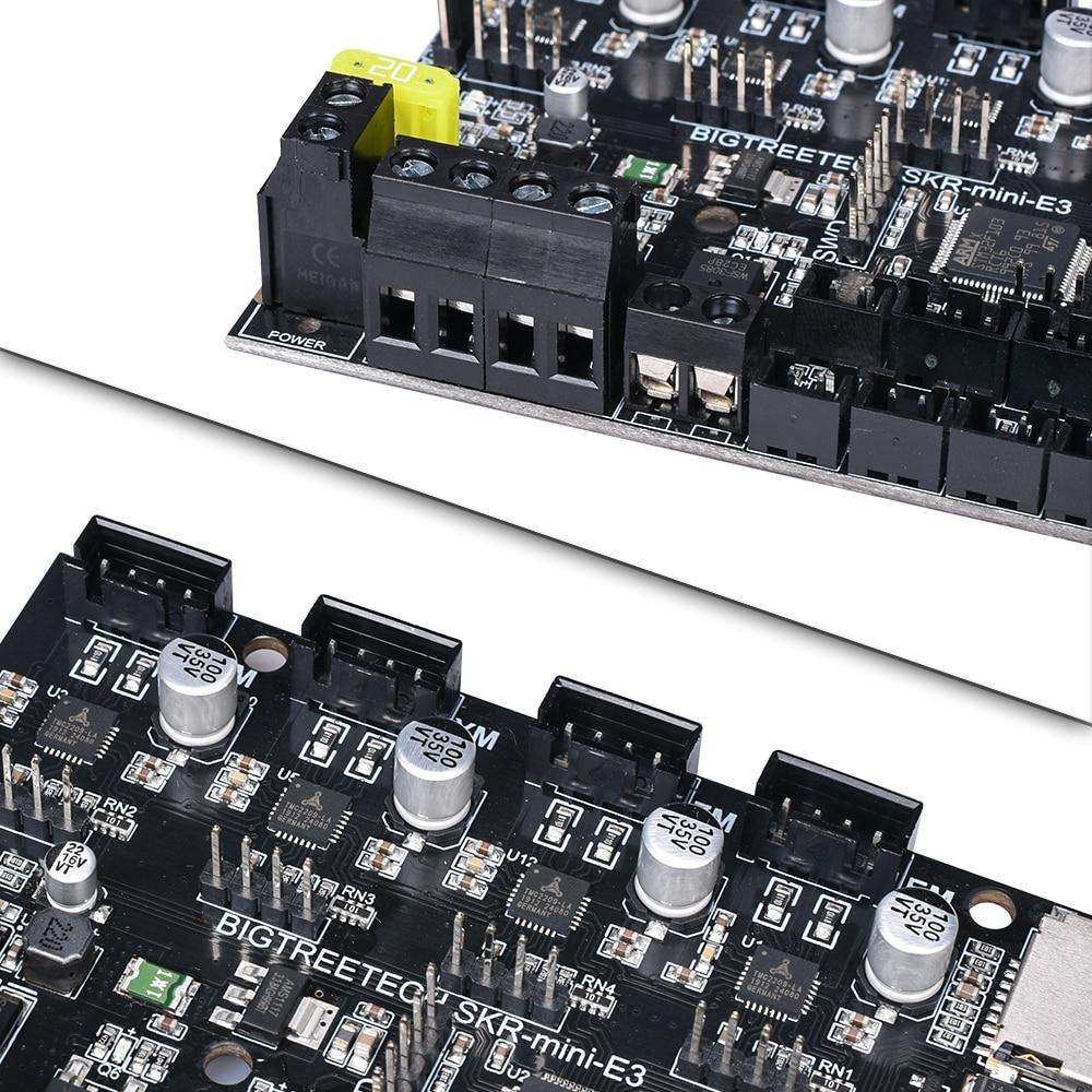 Prévente BIGTREETECH SKR mini E3 Board 32 bits intégré TMC2209 UART VS TMC2208 pour Ender 3 Pro/5 à SKR V1.3 pièces d'imprimante 3D - 4