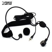 3,5 мм Джек стерео винт запираемый вокальный головная гарнитура микрофон Динамический микрофонная капсула для WH20TQG беспроводной нательный передатчик