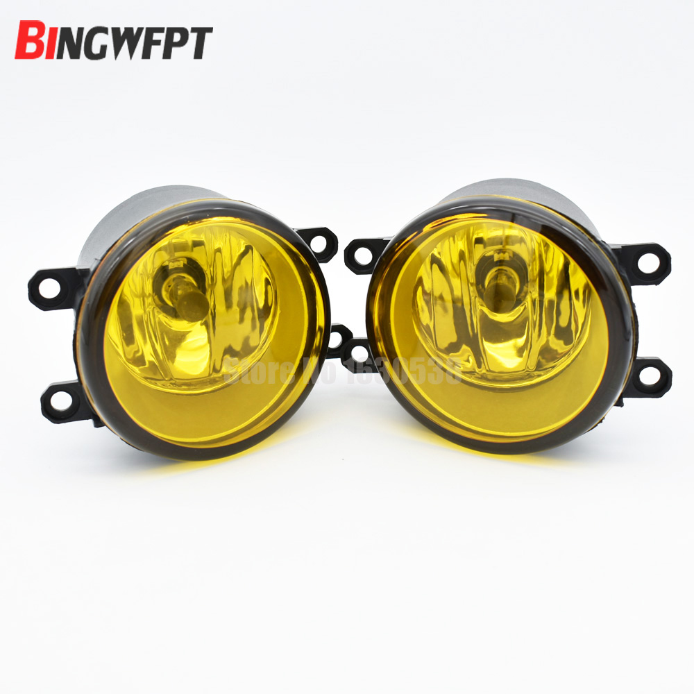 1set 3000K Golden Yellow Light Fog Light Lamp Left + Right RH LH Side For Scion xA Increase Visibility fluorescence yellow high visibility