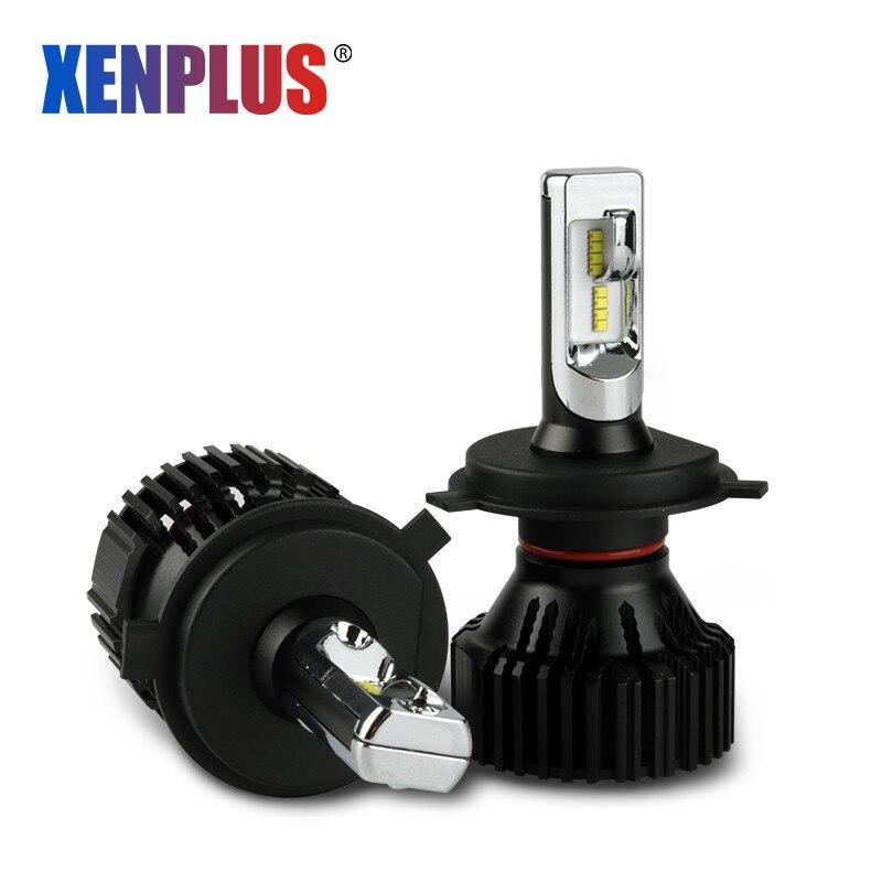 Xenplus Car Headlight bulbs H4 LED H7 H11 H3 H1 H9006 9005 H13 9004 Lumileds ZES