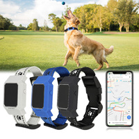 IP67 Waterproof Real time Pet Locator Collar GPS GSM GPRS Tracker Real time Call Tracking for Dogs Cats