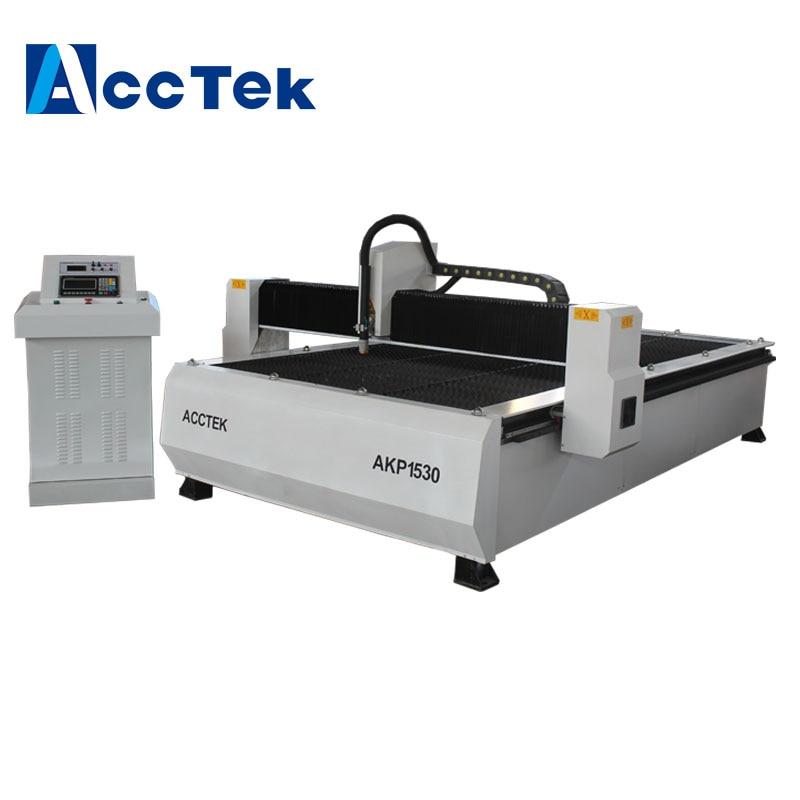 Precio barato 1325 1530 CNC máquina de corte de Plasma con THC para acero de hierro de aluminio material de metal