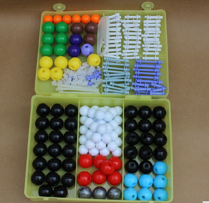 где купить 267pcs Scientific Inorganic Organic Chemistry Scientific Atom Molecular Models Links Kit Set Free Shipping по лучшей цене