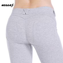 Low Waist Pants Women Sexy Hip Push Up Pants Legging Jegging Gothic Leggins Jeggings Legins Comfortable Women Leggings
