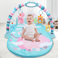 Baby Body building Frame Pedal Piano Music Play Mat Musical Mat Musical early childhood toys 0 36 months Gifts for baby