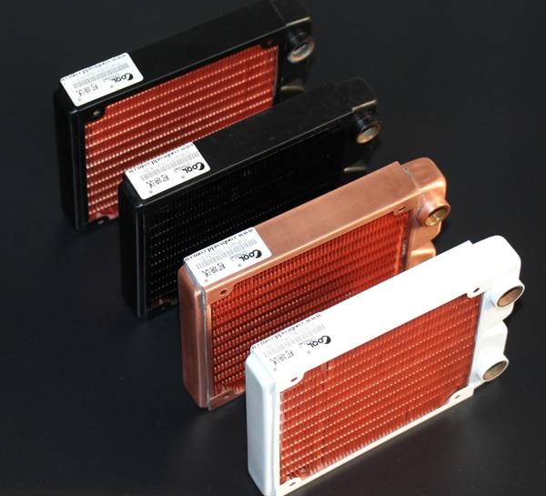 Radiatore del dissipatore di calore del computer raffreddato ad acqua dello scambiatore di raffreddamento raffreddato ad acqua di rame rosso di alta qualità di Ke Ruiwo 120MM