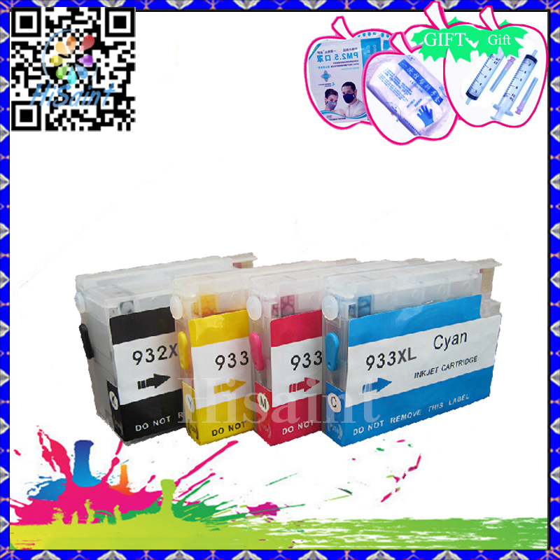ФОТО High Quality Compatible HP 932 933 Empty Refill ink Cartridge for Officejet 6100 6600 6700 7110 7610 7612 Panic Buying