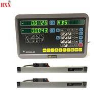 Уровень измерительный прибор инструменты 2 оси УЦИ комплект/комплект с 2 шт. 1u линейные стекло весы для мельницы/токарный станок машина