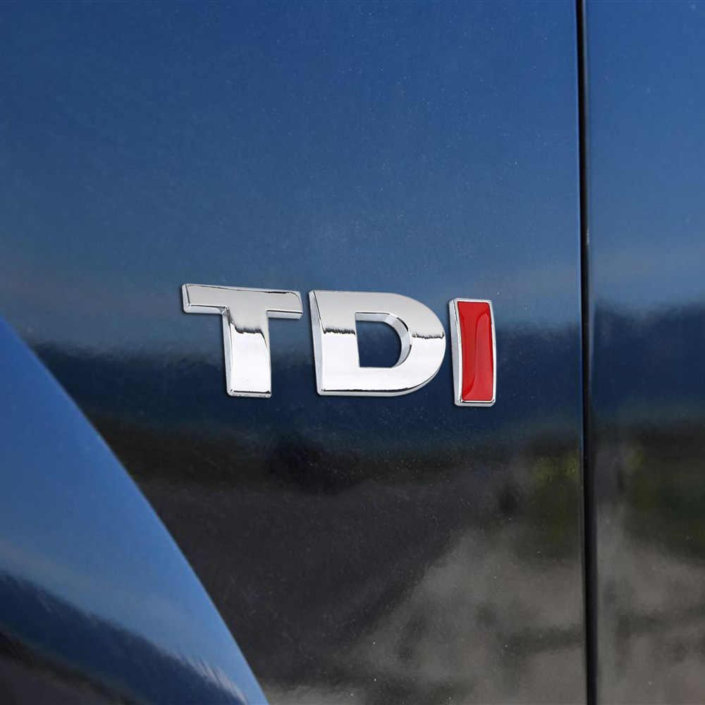 Leepee Cho VW Golf Jetta Passat MK4 MK5 MK6 Dán Xe Hơi Hiệu Huy Hiệu TDi Logo Turbo Trực Tiếp 3D Kim Loại decal