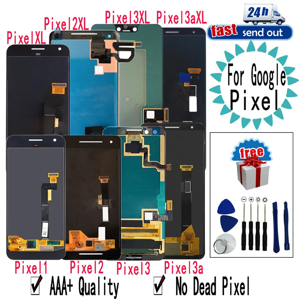 AMOLED de Google para Google Pixel 2 3 3A XL pantalla LCD de montaje de digitalizador con pantalla táctil de reemplazo de Google para Google Pixel XL 2XL 3XL 3AXL