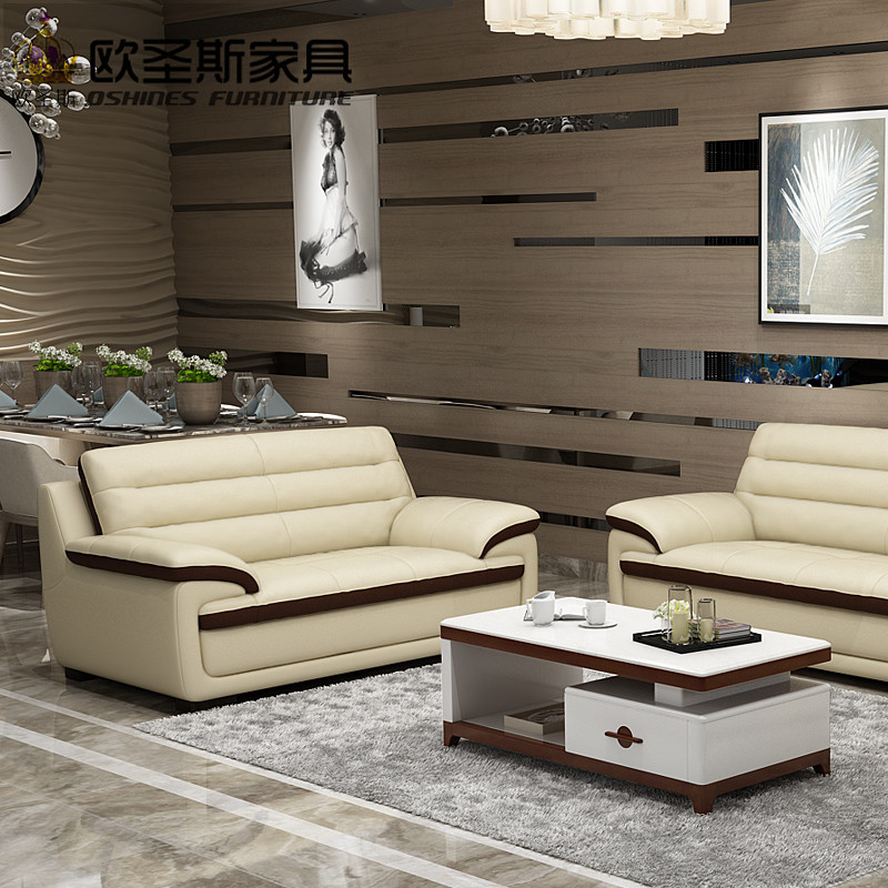 2017 New Design Italy Modern Leather Sofa Soft Comfortable Livingroom Genuine Real Set 321 Seat 666a In Living Room Sofas From