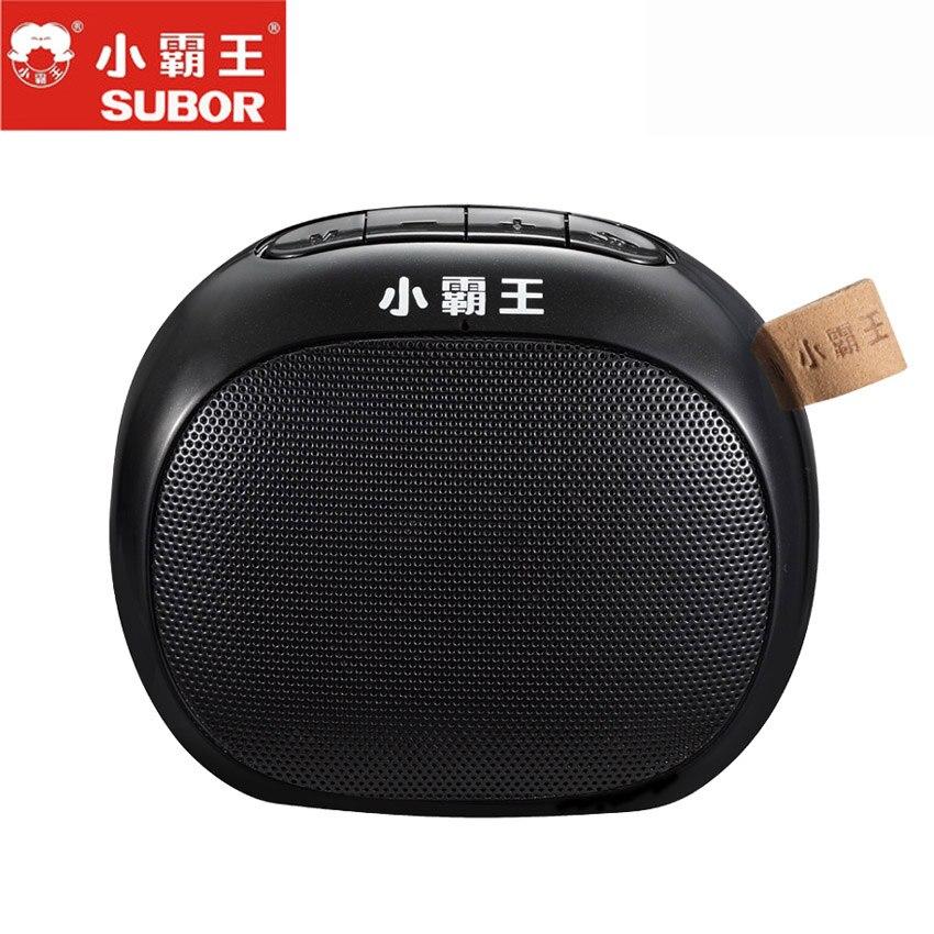 2018 offre spéciale Subor D55 sans fil TF boîte Audio stéréo Portable escalade Bluetooth haut-parleur avec micro mains libres Subwoofer extérieur