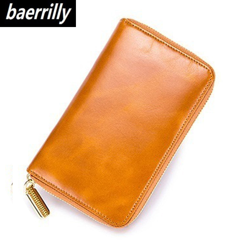 Multifunctional Business Passport Wallets Men Genuine Leather Casual Travel zipper Passport Cover Male Credit Card Holder joyir men passport cover genuine leather passport holder travel wallet card wallet credit card holder porte carte business male