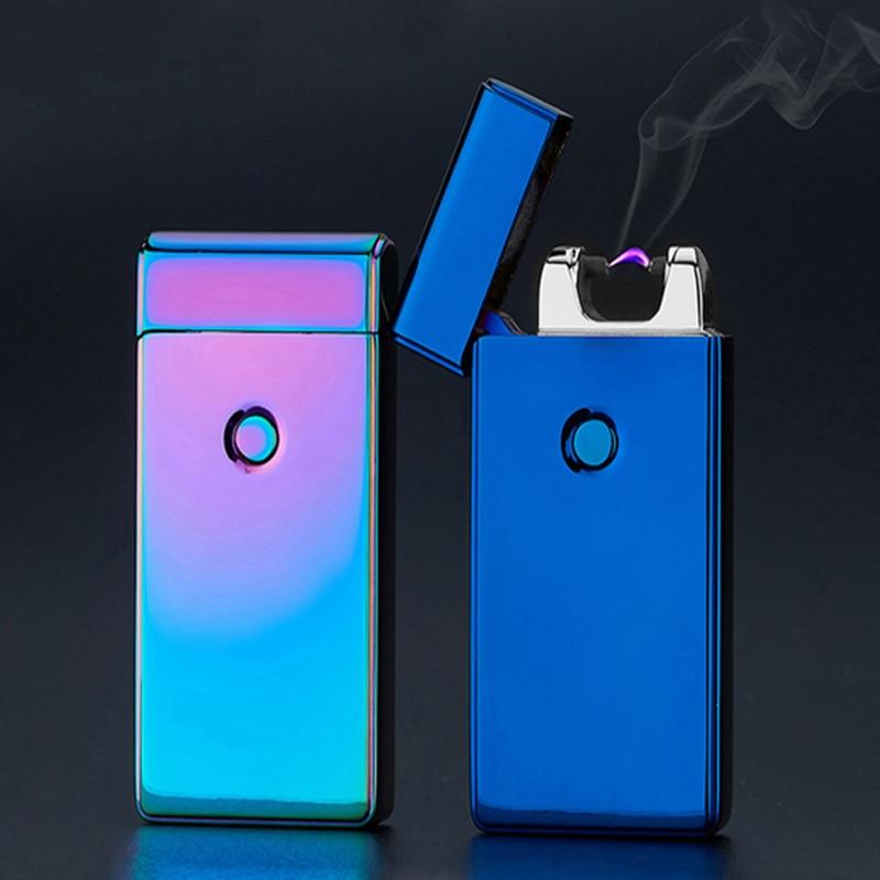 Thunder USB Lighter Rechargeable Electronic Cigarette Accessorie Torch Plasma Cigar Arc Palse Lighter Pulse Windproof Lighter