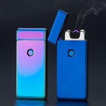 Гром USB легче Перезаряжаемые электронная сигарета аксессуары факел плазмы сигары Arc palse легче импульса ветрозащитный зажигалка