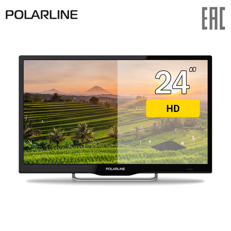TV 24 POLARLINE 24PL12TC HD 30inchTV DVB-T dvb-t2 DVB-C digital