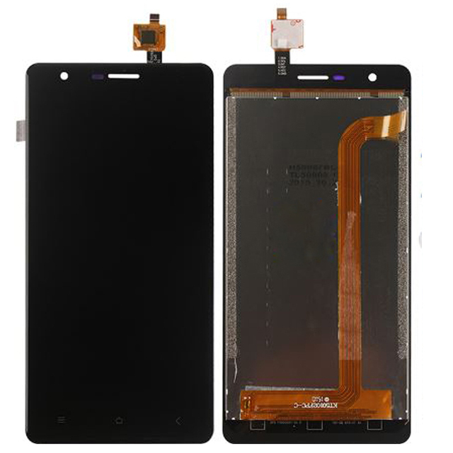 Original Para Oukitel K4000 Lite Display LCD Com Tela de Toque Digitador Assembléia Frete Grátis