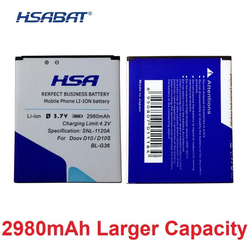 Cellphones & Telecommunications 2980mah Bl-g36 Phone Battery Use For Doov D10 D10s 5 Explay Hd Quad 3g