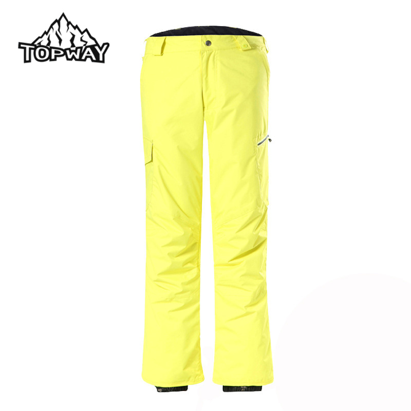 Fashion Man Winter Outdoors Water Resistant Sweatpants Windstopper Breathable Trousers Snow Pantalon Homme Thermal Men Pants