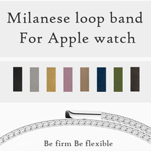 Milanese Loop Band for apple watch 42mm Series 3 iwatch Band 38mm Stainless Steel Strap Braclet With Magnetic Buckle