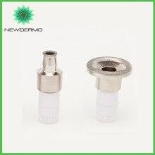 NEWDERMO الماس V تدليك للوجه تلميح غرامة تلميح أطرافه تلميح ل ماكينة الجلطات الدقيقة الجلد تجديد 2 رؤساء مختلفة
