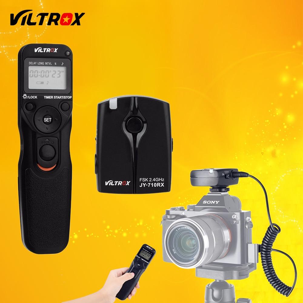 Viltrox jy-710-s2 Cámara temporizador inalámbrico Lanzamiento de obturador remoto para Sony A9 a7ii a7sii a7rii a6500 a6300 a3000 hx60 hx50 rx100m2